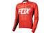 Fox Ascent jersey lange mouwen Heren rood